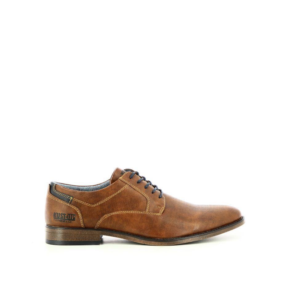 Veterschoenen Geklede schoenen Kastanje