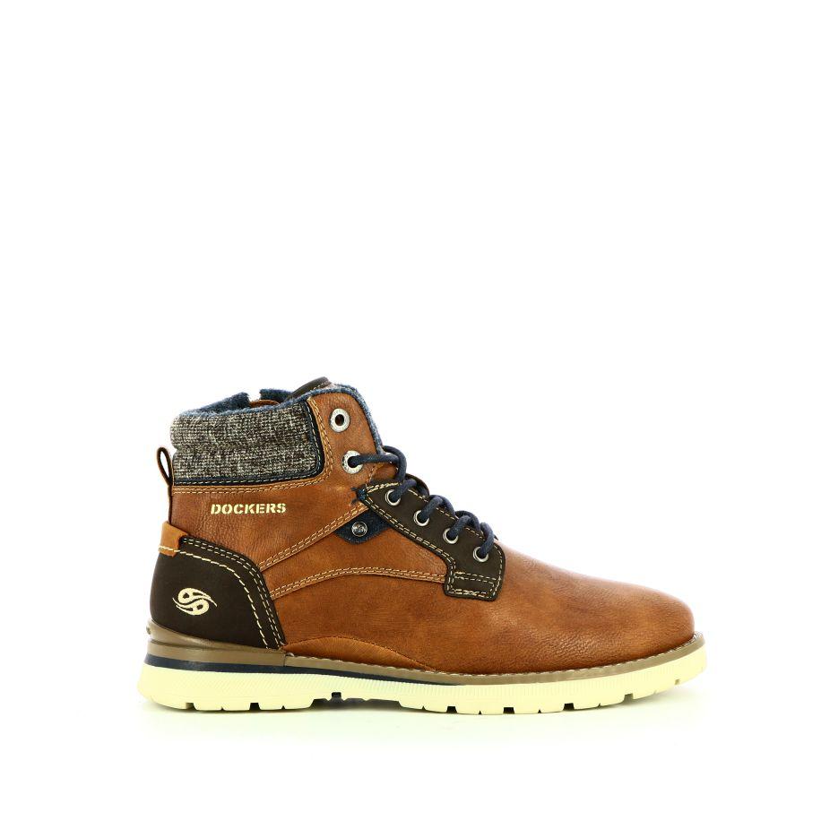 Dockers Boots & enkellaarsjes Veterschoenen Bruin
