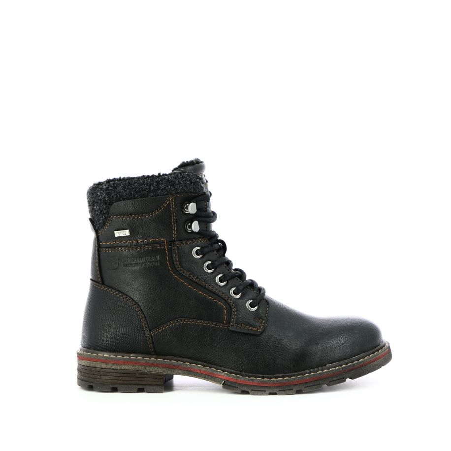 lacets Bootsbottines Tailor à Tom Noir Chaussures bWIYeEH2D9