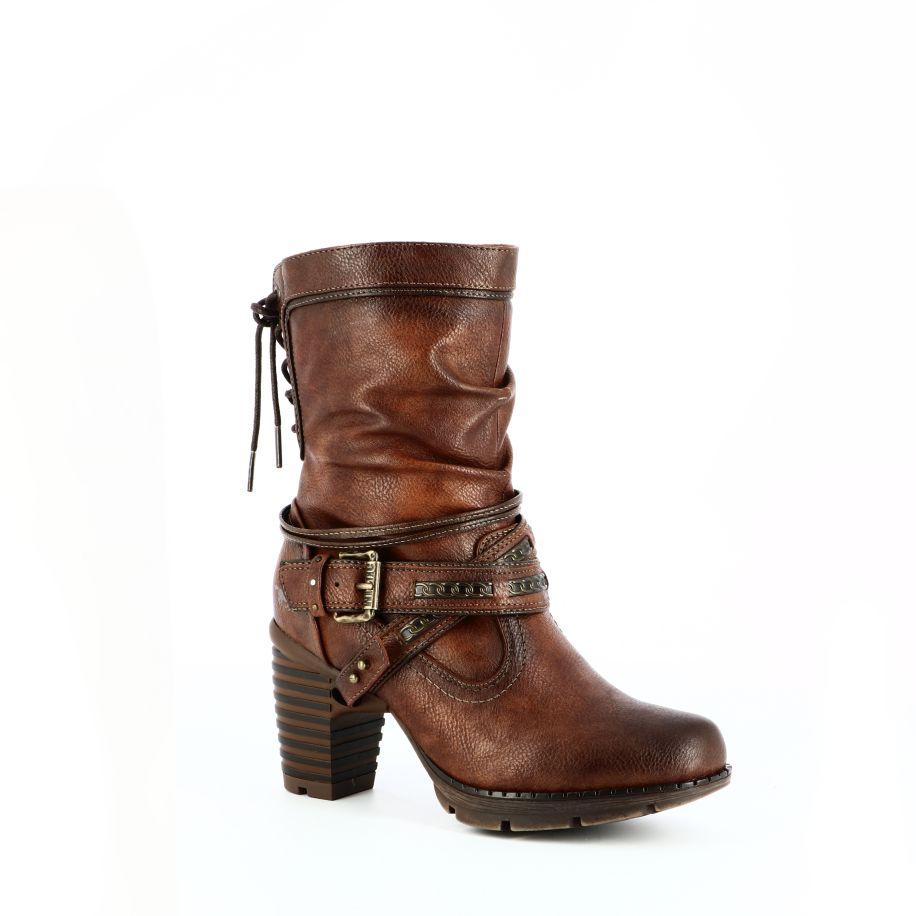 Mustang Boots & bottines Cognac